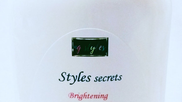 STYLES SECRETS BRIGHTENING BEAUTY BODY LOTION.