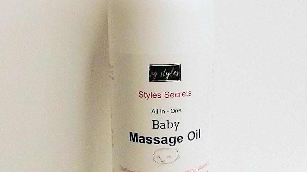 STYLES SECRETS BABY MASSAGE OIL