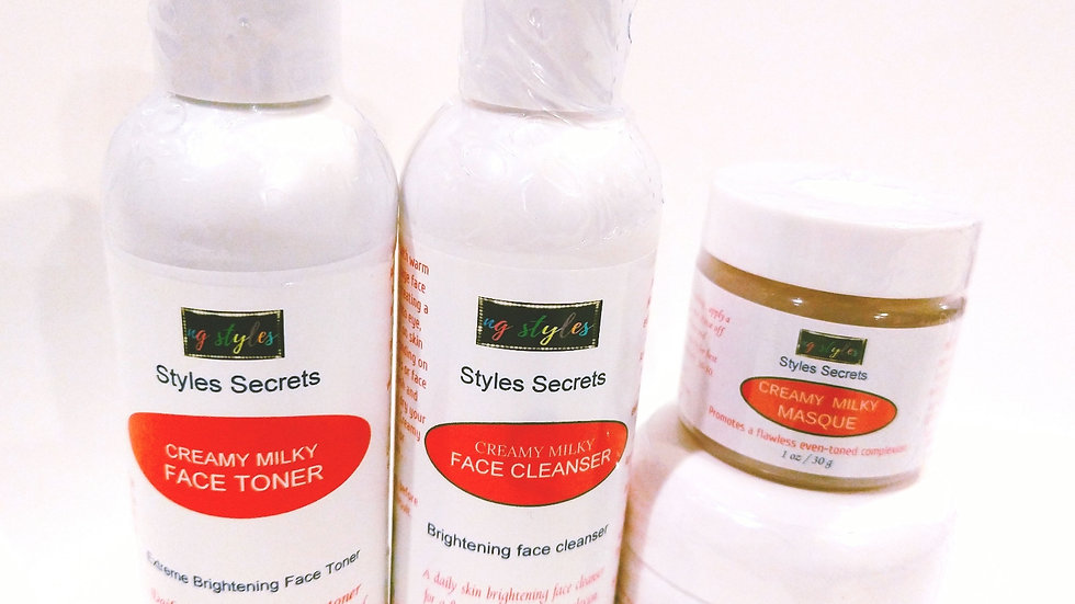 STYLES SECRETS CREAMY MILKY FACE CARE SET