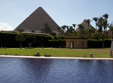 Reveil au pied des Pyramides - Egypte