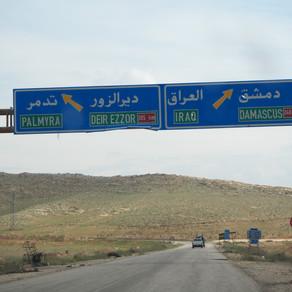 Les ruines de Palmyre - Syrie