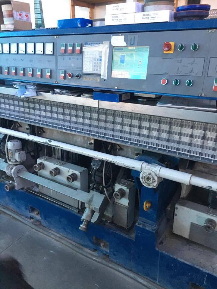BOVONE STRAIGHT LINE EDGING MACHINE