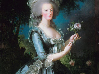 Marie-Antoinette: a passion that goes way back...