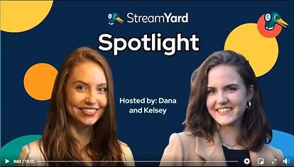 StreamYard Spotlight