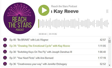 Reach the Stars Podcast Episode 39