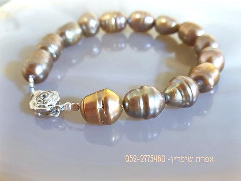 Champagne Natural Pearl Bracelet
