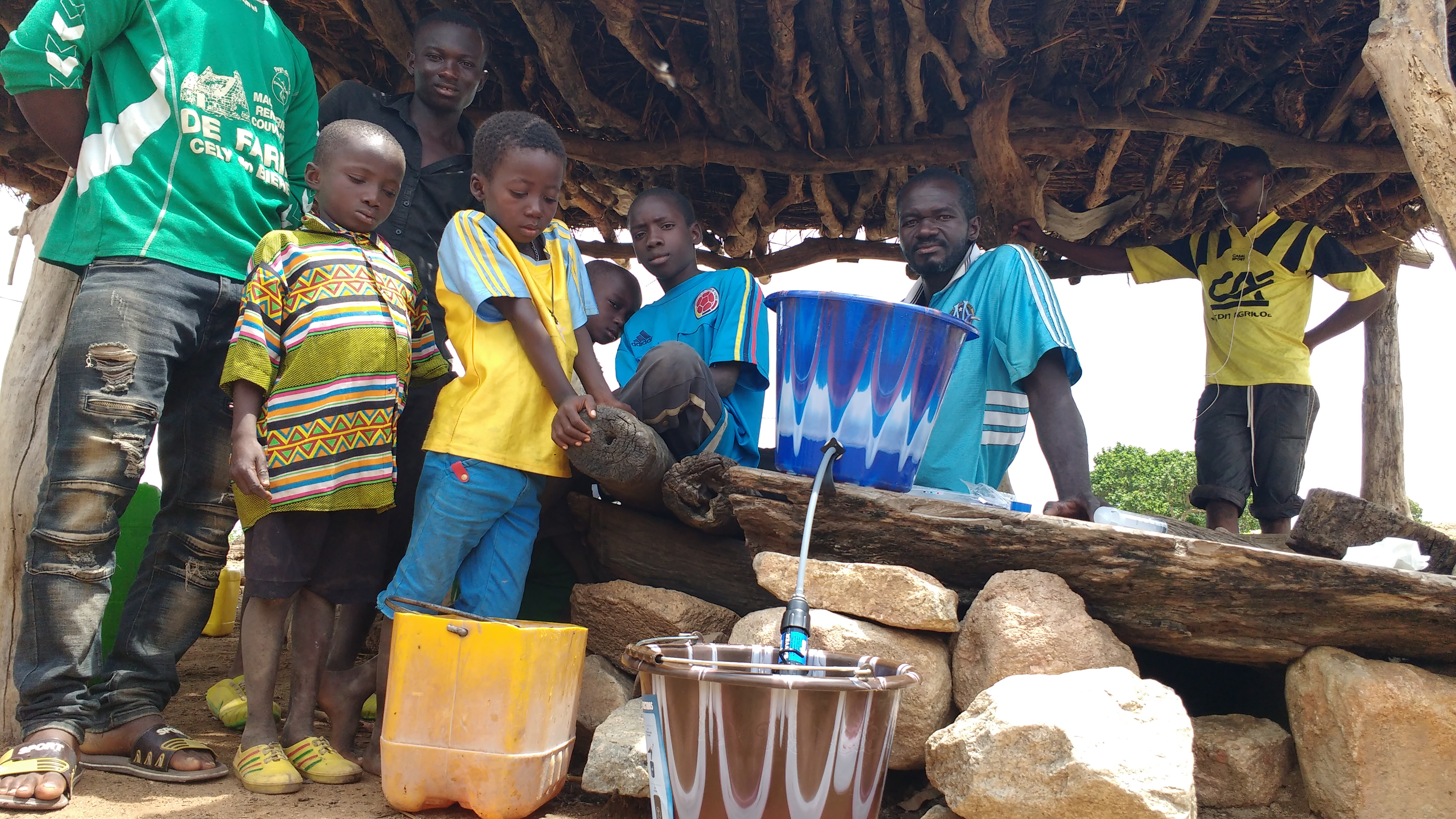 Water filter distribution