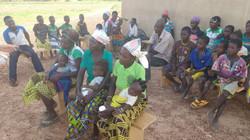 Mosquito net & vitamin distribution