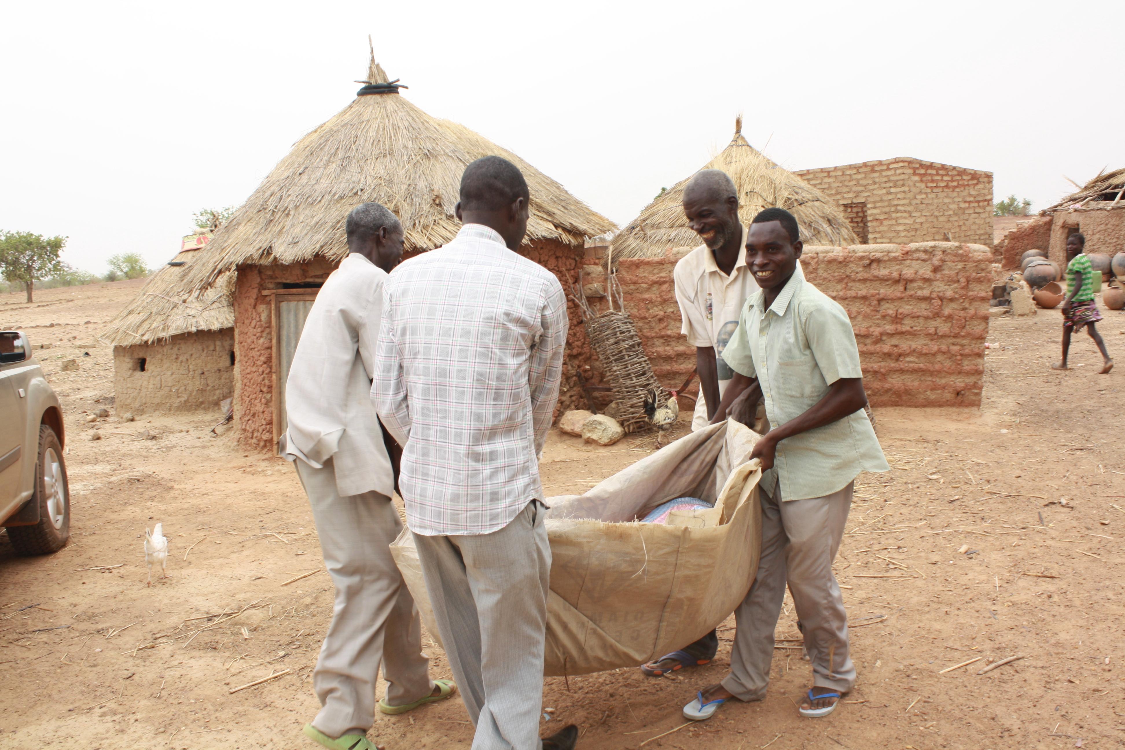 Grain Distribution: Burkina Faso