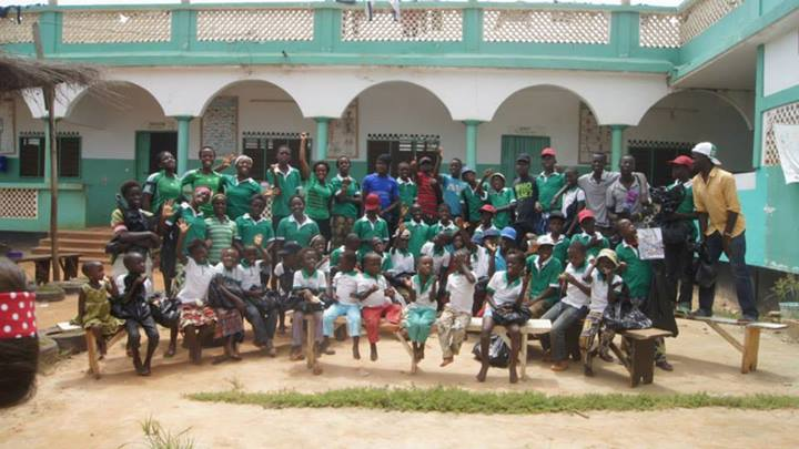Orphanage in Lome, Togo