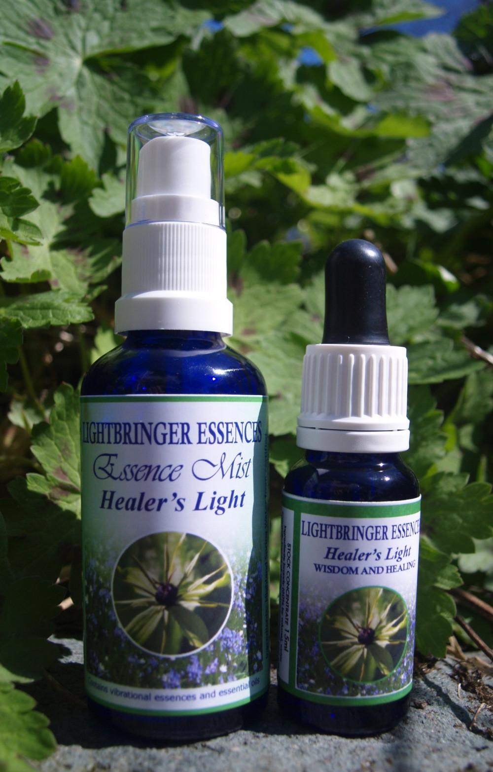 Healer's Light Essence Combination - alignment to our inner healer