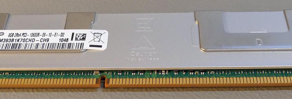 SAMSUNG - M393B1K70CHD-CH9 - 8 Go-PC3-10600R-1333MHz-ECC