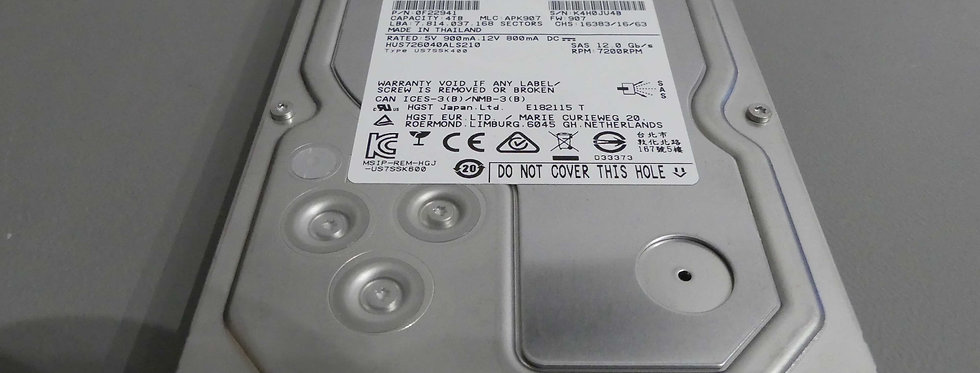 HGST - 4 To - SAS - 7200 RPM - HUS726040ALS210