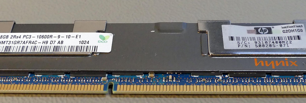 HP 500205-071 - 8 Go - Samsung - M393B1K70CH0-CH9Q5 - 10600R - ECC
