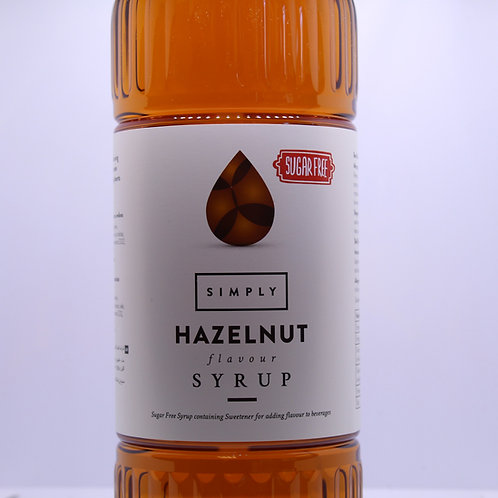 SUGAR FREE - Hazelnut 1L