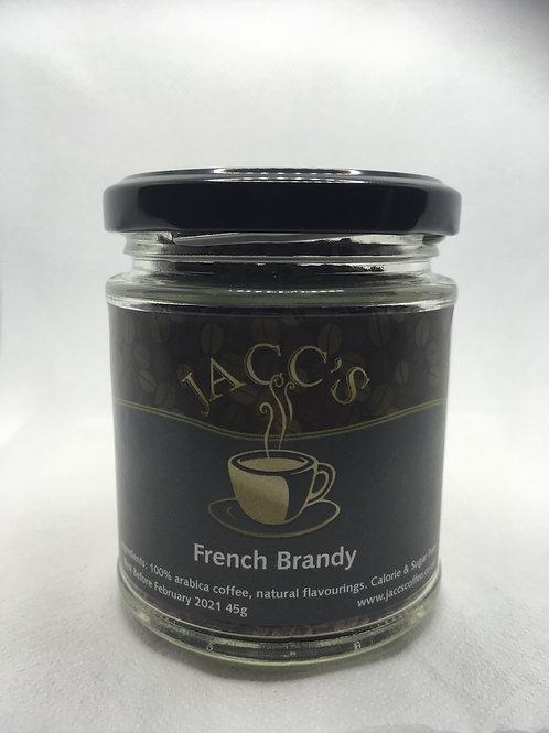 French Brandy instant coffee 45g jar