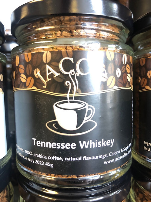 Tennessee Whiskey instant flavoured coffee 45g