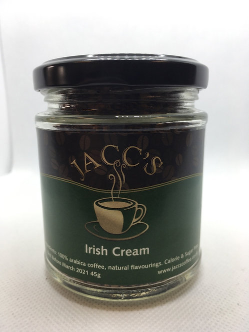 Irish Cream Instant Coffee 45g Jar