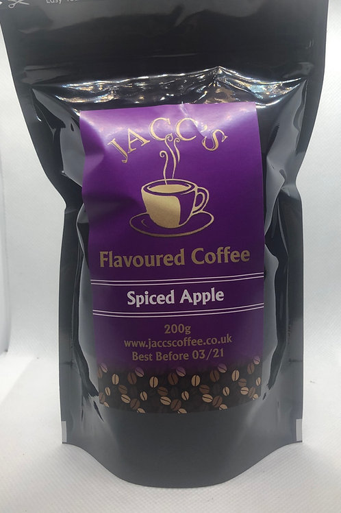 Spiced Apple Flavoured Coffee