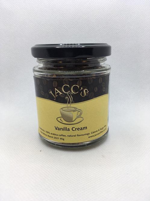 Vanilla Cream flavoured instant coffee 45g