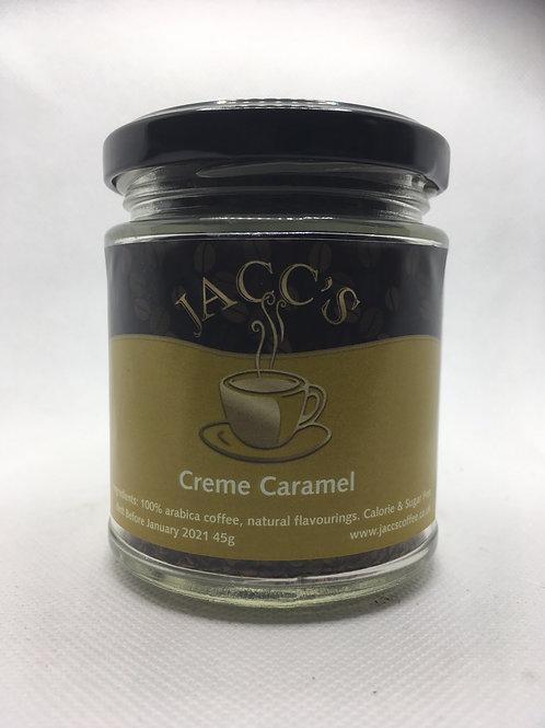 Creme Caramel Instant Coffee 45g Jar