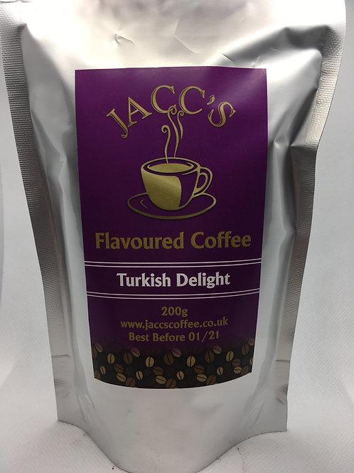 Turkish Delight Flavoured Coffee