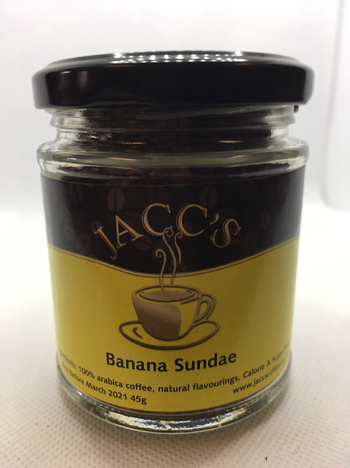 Banana Sundae Flavoured Instant Coffee