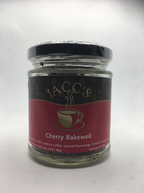 Cherry Bakewell Instant Coffee 45g Jar