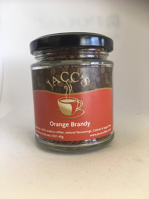 Orange Brandy Flavoured instant coffee 45g