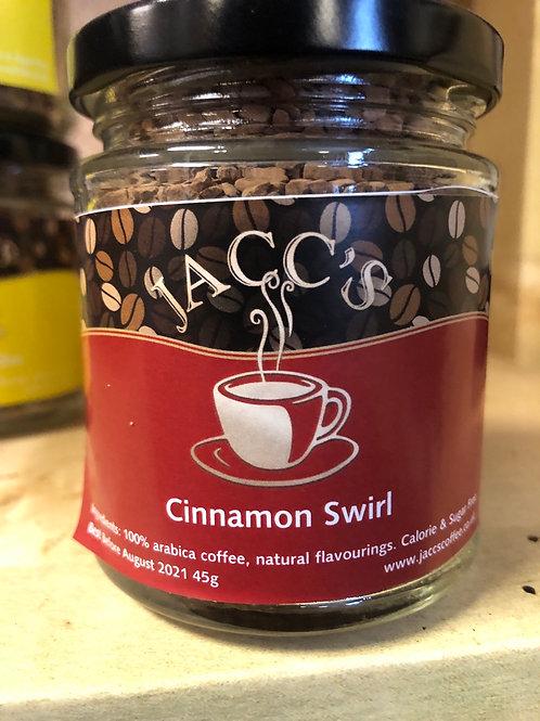 Cinnamon Swirl Flavoured instant coffee 45g