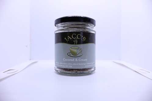 Coconut & Cream instant coffee 45g jar