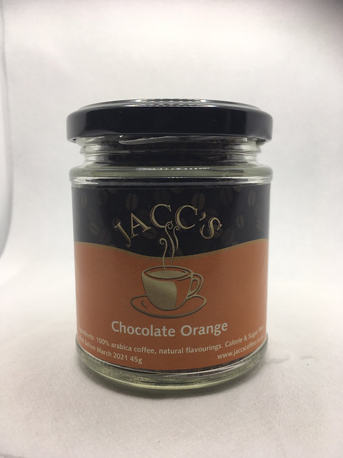 Chocolate Orange Instant Coffee 45g Jar
