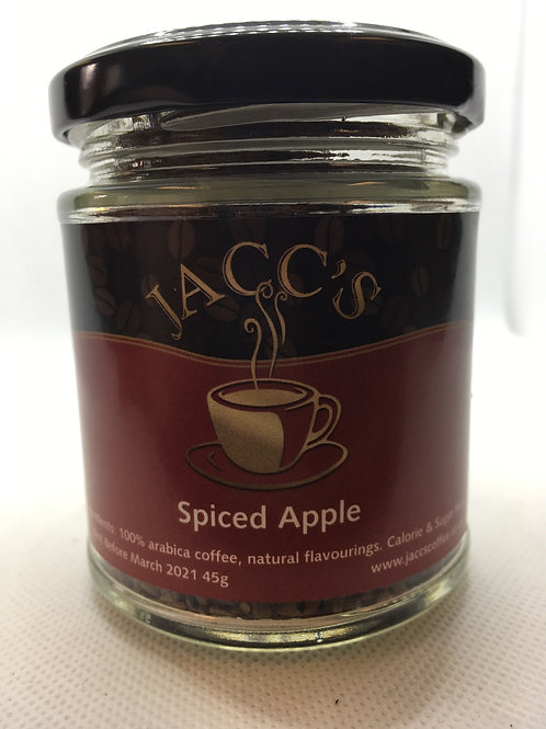 Spiced Apple flavoured instant coffee 45g