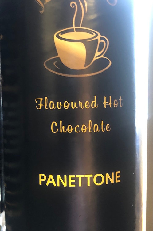 Panettone flavoured hot chocolate 240g tub