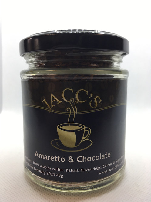 Amaretto & Chocolate Flavoured Instant Coffee