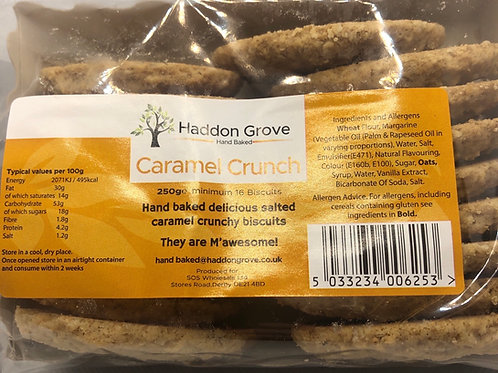 Caramel Crunch Biscuits 250g