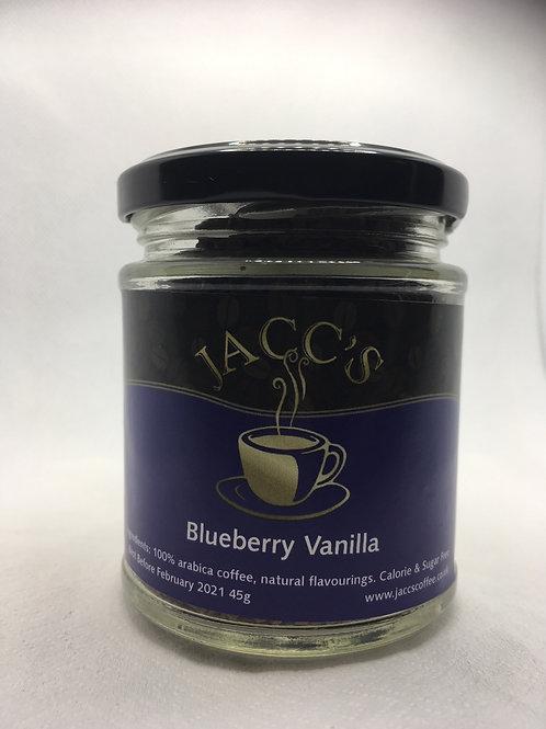 Blueberry Vanilla Instant Coffee 45g Jar