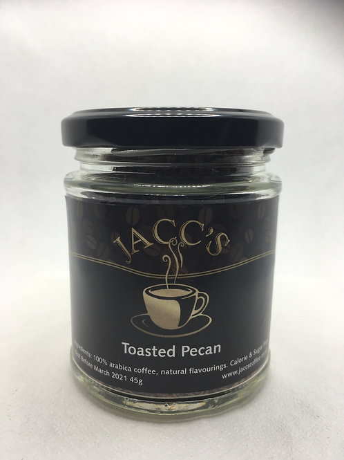 Toasted Pecan Instant Coffee 45g Jar