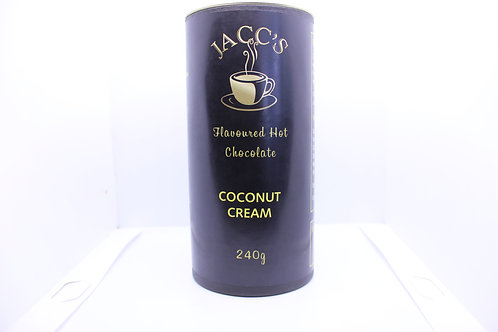 Coconut Cream Hot Chocolate