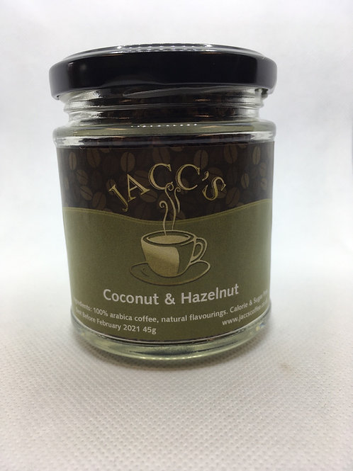 Coconut & Hazelnut Flavoured Instant Coffee