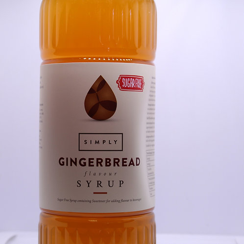 SUGAR FREE - Gingerbread 1L