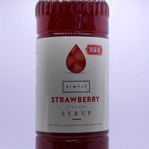 SUGAR FREE - Strawberry 1L