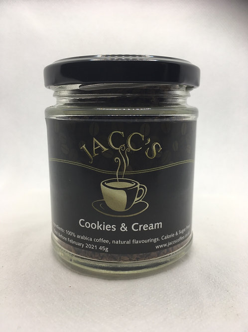 Cookies and Cream Instant Coffee 45g Jar