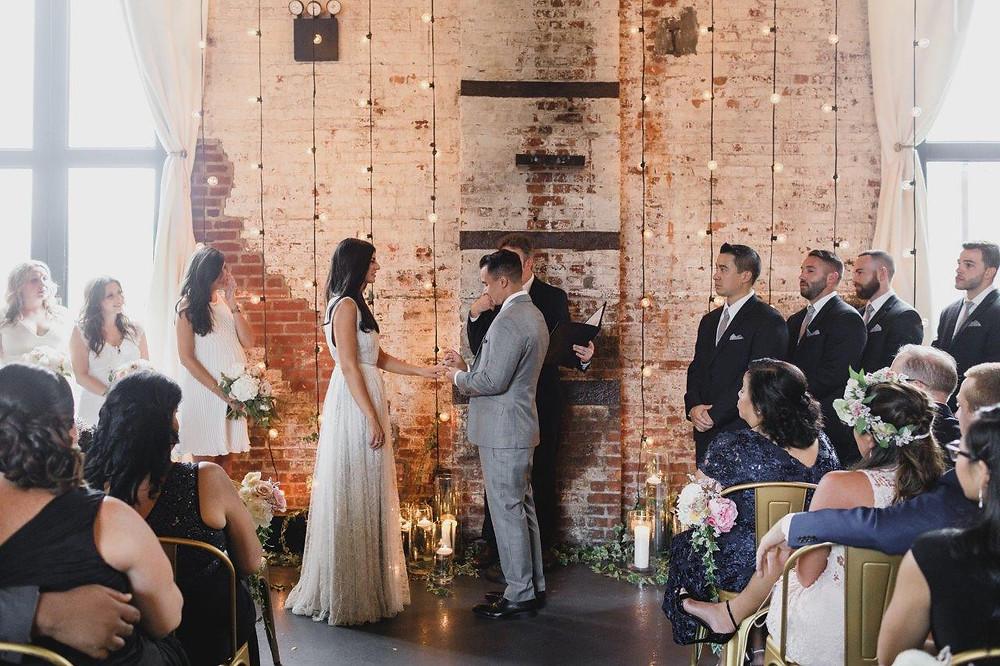 green building wedding brooklyn