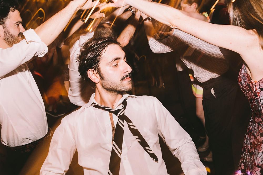 Brooklyn Wedding DJ, DJ Ben Boylan  Cool dancing guy