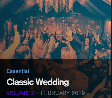 New Wedding Playlists for Heavy Hits DJ Pool