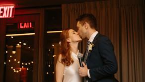 1 Hotel Brooklyn Bridge Wedding, Brooklyn, NY for Emily & Andrew