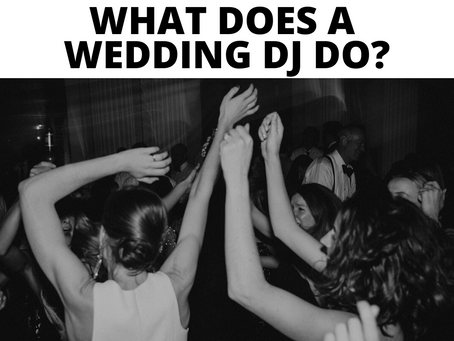 What Does a Wedding DJ Do?