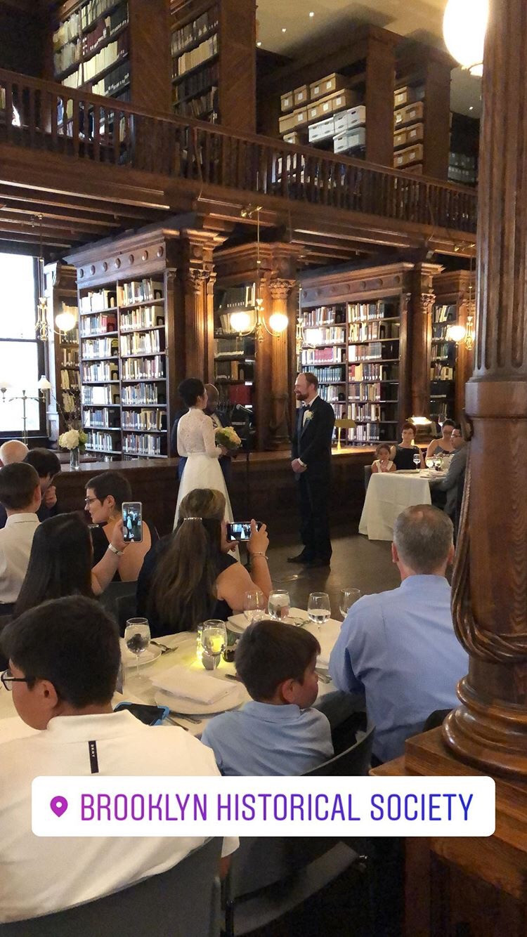 brooklyn historical society wedding