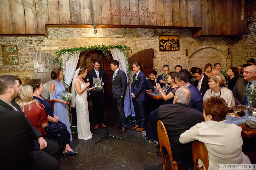 Radegast Hall Wedding